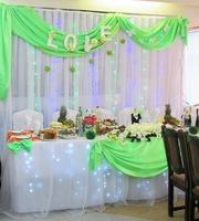 Свадебное оформление дешево всего 80 уе и свадебные аксессуары