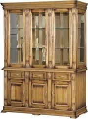 Шкаф комбинированный Верди 3з дуб
