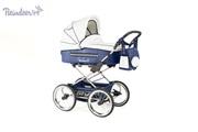 Детская модульная коляска Reindeer  Style эко-кожа